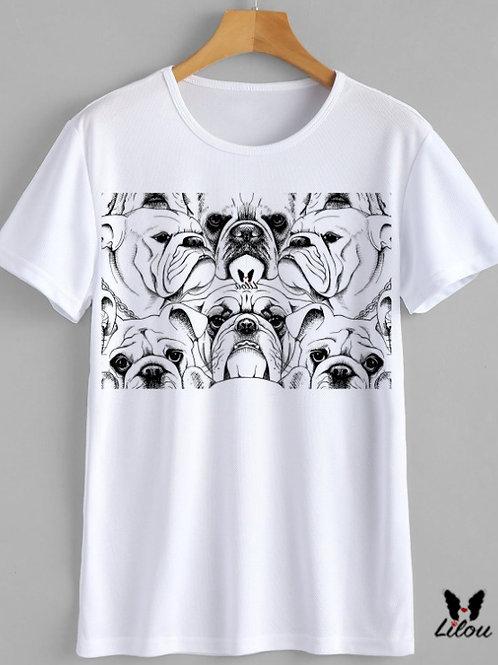 T-shirt Uomo - BULLDOG INGLESE - ENGLISH BULL