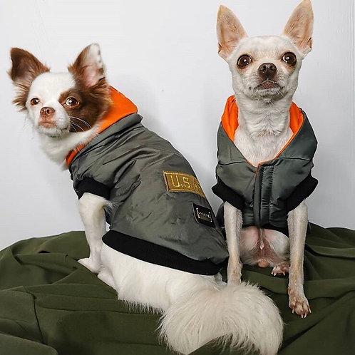 Piumino Chihuahua US ARMY