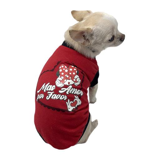 T-shirt Chihuahua - mas amor