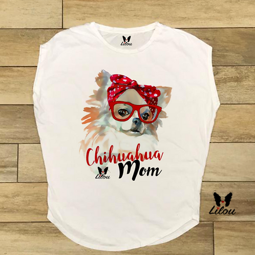 T-shirt donna OVETTO - CHIHUAHUA MOM