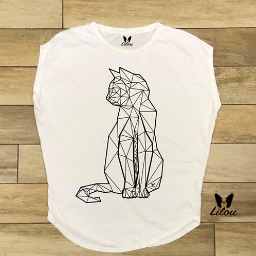 T-shirt donna OVETTO - KITTEN LINE