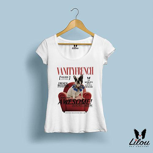 T-shirt slim fit donna VANITY FRENCH