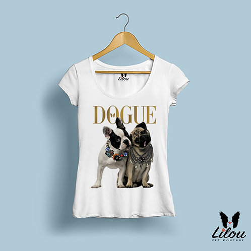 T-shirt slim fit donna DOGUE