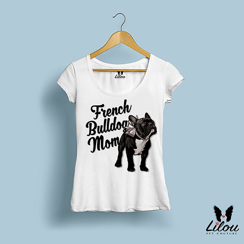T-shirt donna slim fit FRENCH MOM