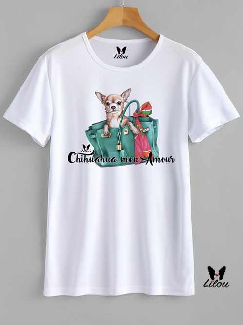 T-shrit DONNA COMFORT -CHIHUAHUA MON AMOUR