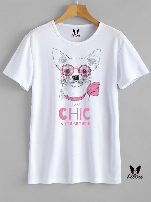 T-shrit DONNA CONFORT -CHIHUAHUA CHIC
