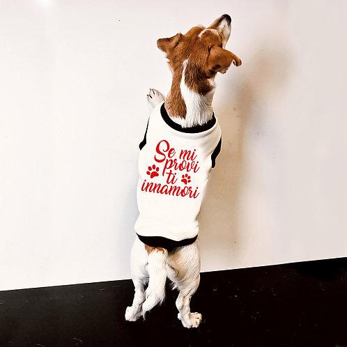 Felpa Bulldog francese femminile se mi Provi