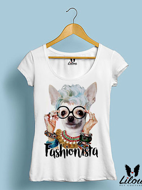 T-shirtslim fit donna FASHIONISTA