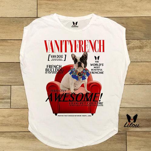 T-shirt donna OVETTO - BULLDOG VANITY FRENCH