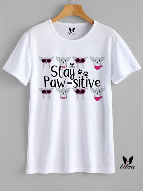 T-shrit DONNA CONFORT - STAY PAW-SITIVE