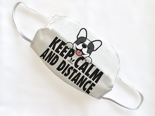 PROMO 5MASK - KEEP CALM AND DISTANCE