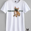 Thumbnail: T-shirt UNISEX - BULDDOG FRANCESE -FRENCHIE STYLE