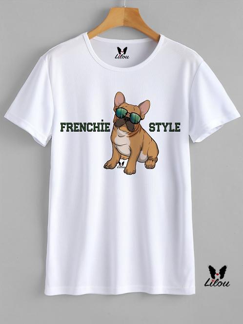 T-shirt UNISEX - BULDDOG FRANCESE -FRENCHIE STYLE