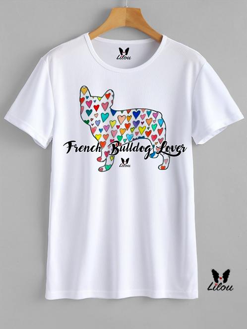 T-shirt UNISEX - BULLDOG FRANCESE - FRENCHIE LOVERS