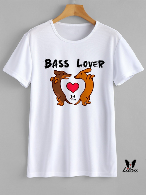 T-shrit UNISEX - BASSOTTO - BASS LOVER