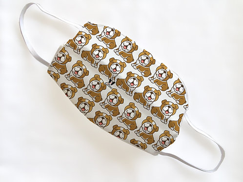 MASK - ENGLISH BULLDOG PATTERN