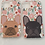 Thumbnail: Cover iPhone 11 - French Bulldog Flower