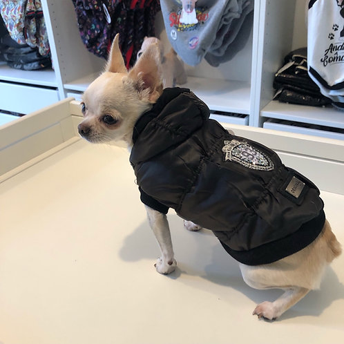 Piumino Chihuahua - Black Snow