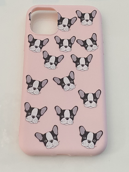 Cover iPhone11 - BULLY PATTERN PINK