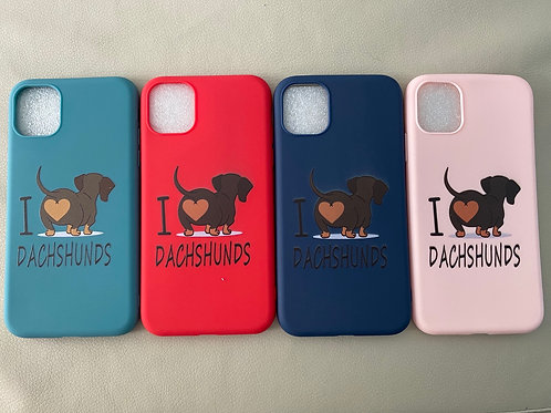 Cover iPhone 11 - I love Bassotto