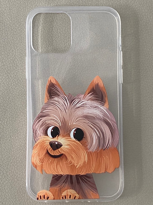 Cover iPhone 11 - YORKIE SMILE