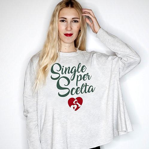 Felpa donna Single per Scelta
