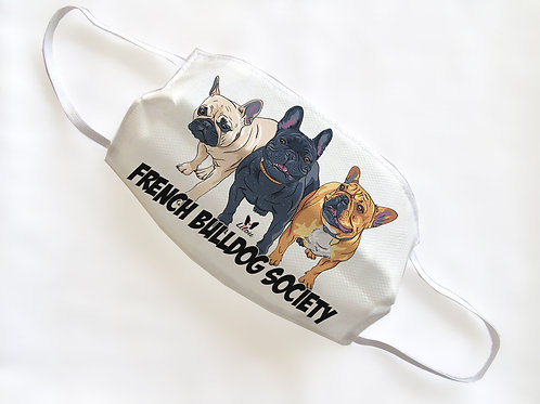 PROMO 3MASK - FRENCHIE SOCIETY