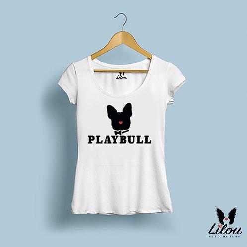 T-shirt donna slim fit PLAYBULL