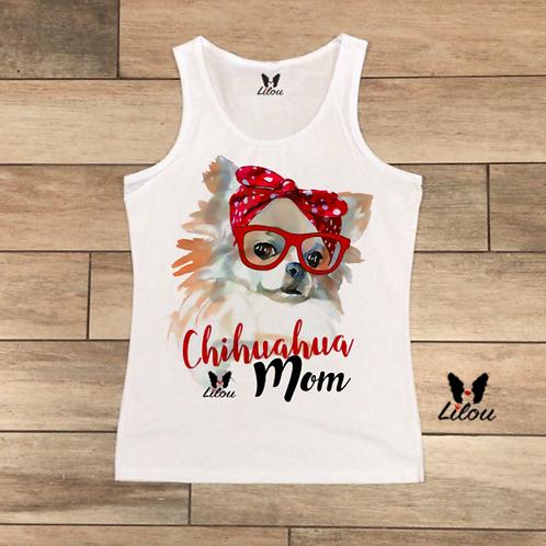 TOP Canotta DONNA - CHIHUAHUA MOM