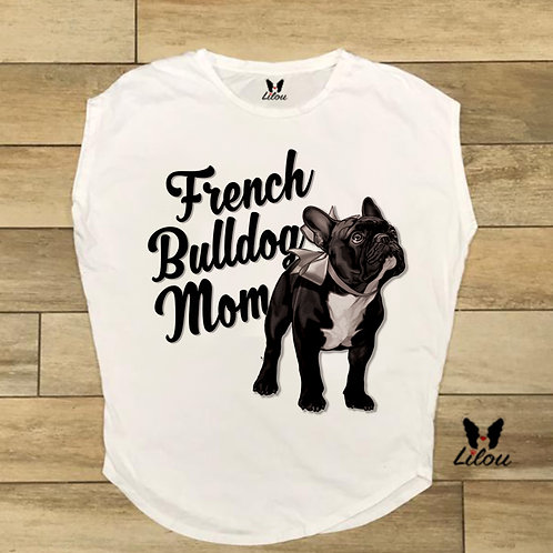 T-shirt donna OVETTO FRENCH MOM