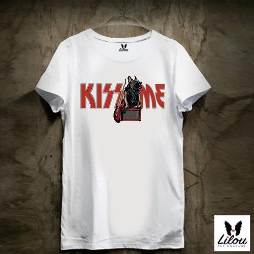 T-shirt uomo KISS ME
