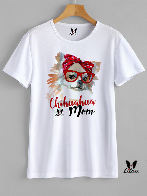 T-shrit DONNA CONFORT -CHIHUAHUA MOM