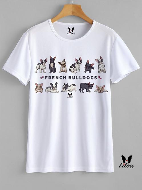 T-shirt Donna - BULLDOG FRANCESE - FRENCH BULLDOGS