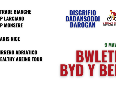 BByB 9/3: Strade Bianche, Tirreno Adriatico a mwy