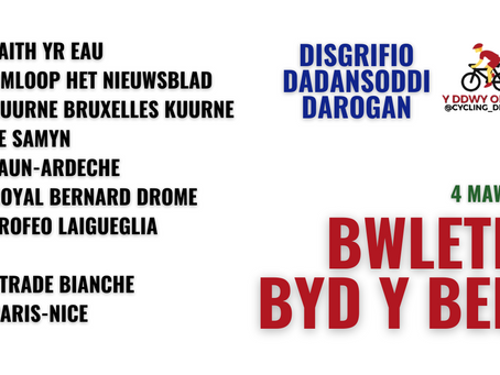 BByB 4/3 | Openingsweekend, Strade Bianche, Paris-Nice a mwy