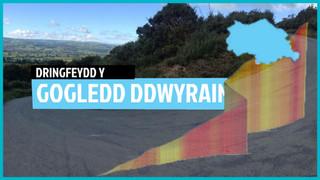 Stepen Drws c2 p2: 5 o ddringfeydd gorau Gogledd Ddwyrain Cymru