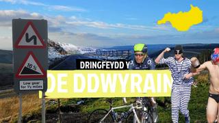 Stepen Drws c2 p5: 5 o ddringfeydd gorau De Ddwyrain Cymru