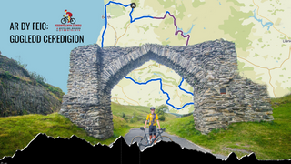 Reids Ar Dy Feic: Gogledd Ceredigion