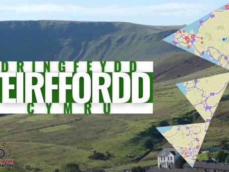 Dringfeydd Teirffordd Cymru