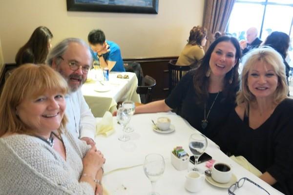 Leslie Nicol, Julie Anne Rhodes, and Debbie Arnold