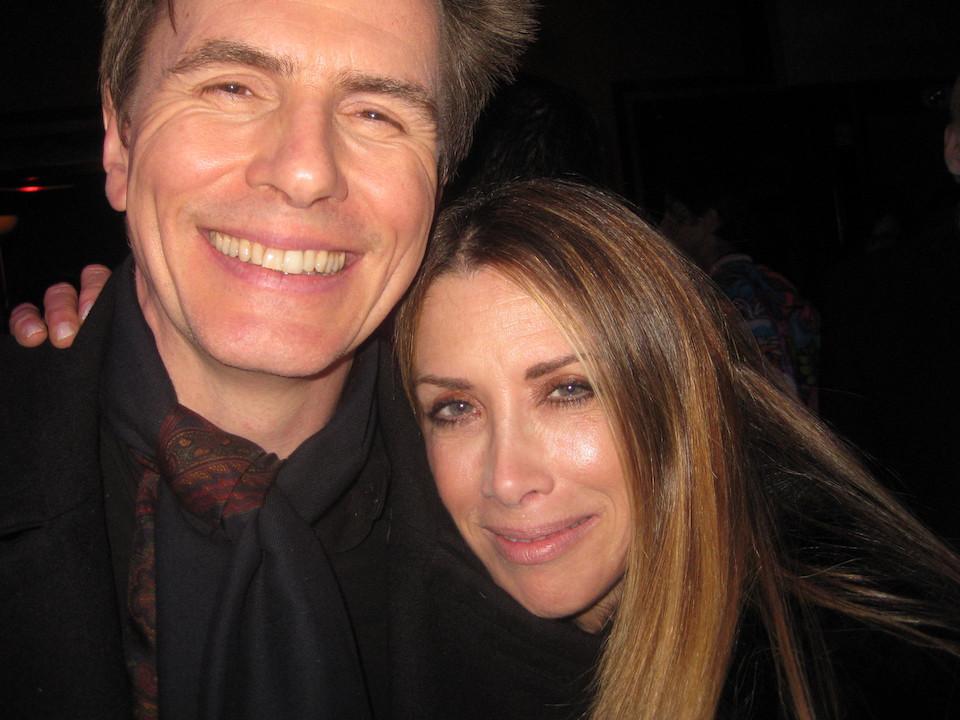 John Taylor and wife Gela Nash