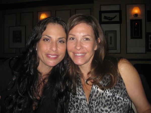 Julie Anne Rhodes and Emily Cash