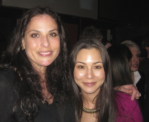 Julie Anne Rhodes and China Chow