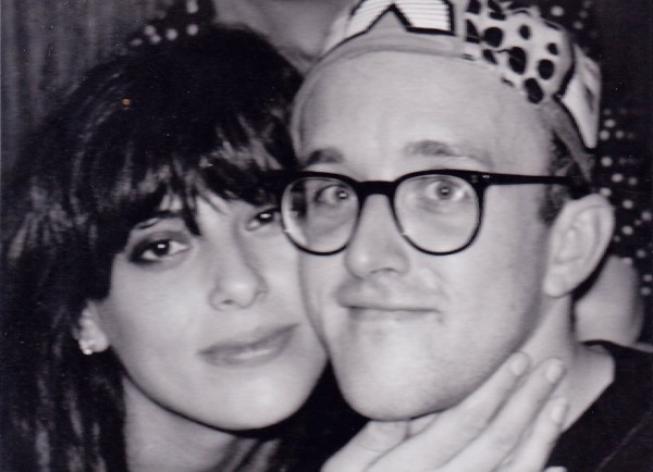 Julie Anne Rhodes and Keith Haring