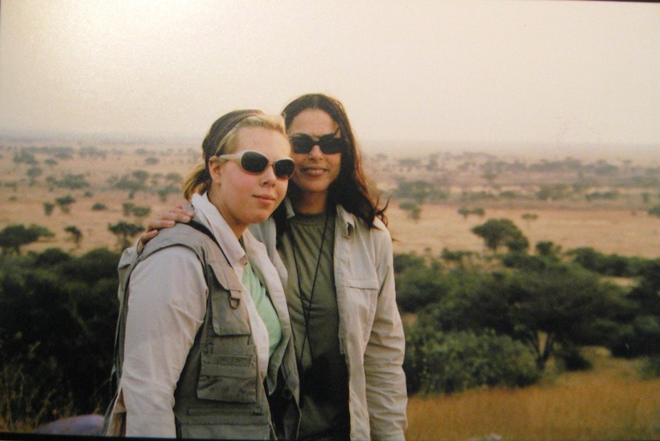 Tatjana and Julie Anne Rhodes in Kenya