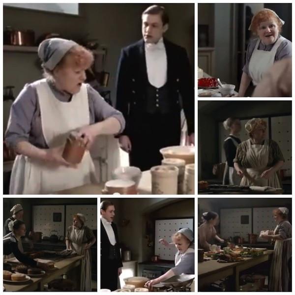 Leslie Nicol as Mrs. Patmore