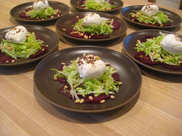 Roasted Beet & Mozzarella Salad
