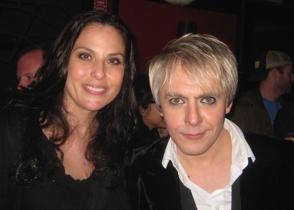 Julie Anne Rhodes and her ex Nick Rhodes
