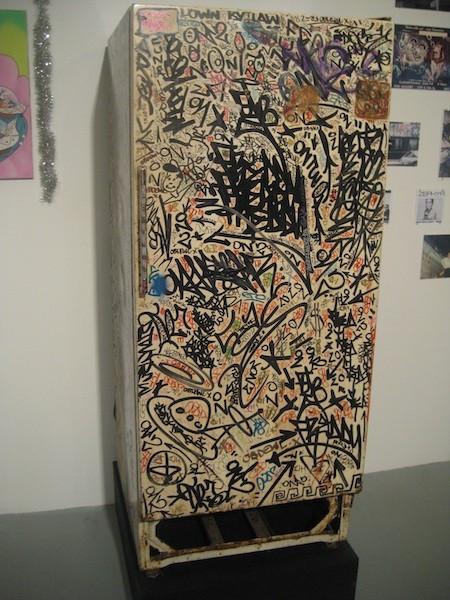 Graffiti refrigerator