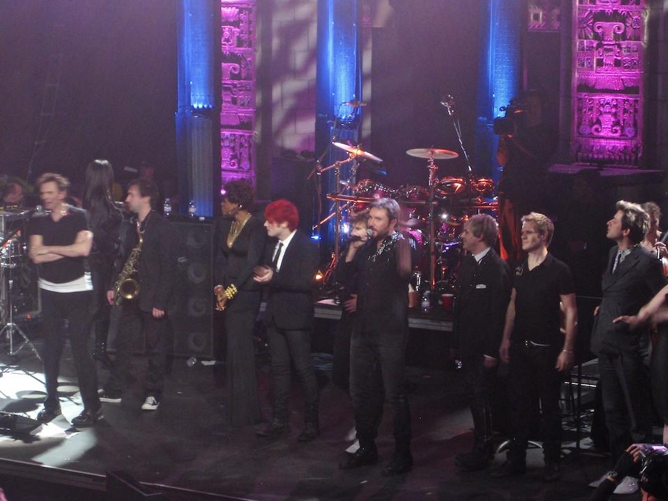Duran Duran with Kelis and Mark Ronson at the Mayan Theater